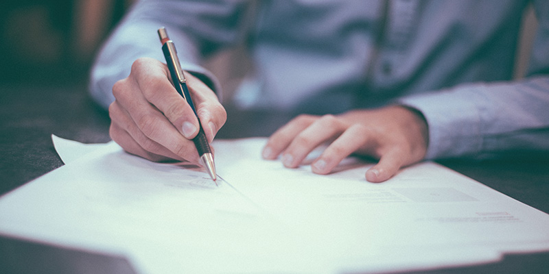 Hamilton Legacy LPA's Signing Document
